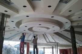 طراحی و اجرای انواع سقف و دیوار کاذب کناف
